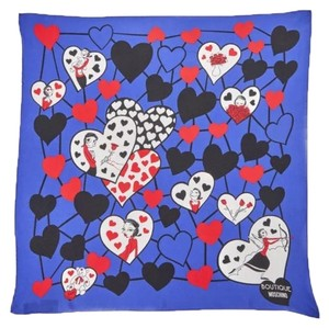 Boutique Moschino lovers moschino printed scarf