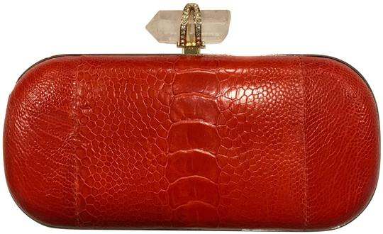 Preload https://img-static.tradesy.com/item/24449648/marchesa-lily-with-crystal-closure-shoulder-minaudiere-red-snakeskin-leather-clutch-0-1-540-540.jpg