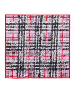 Burberry $420 Burberry Silk Twill Scribble Vintage Check Scarf