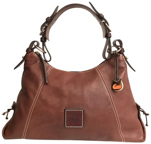 d5dacab52c Dooney   Bourke Purse Handbag Shoulder Tote Distressed Hobo Bag