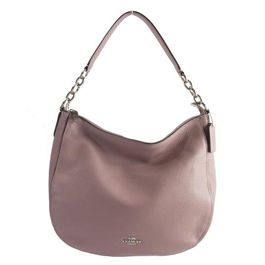24012fbdba3 coach 31399 elle dusty rose polished large hobo pink leather shoulder bag  57% off re... TRADESY
