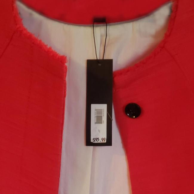 Item - Orange/Red /Red Dress Coat Size 4 (S)