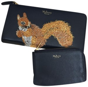 Mulberry squirrel leather wallet