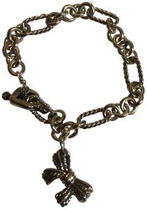 David Yurman David Yurman Oval Link Bracelet with Bow