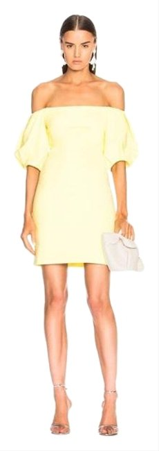 Item - Yellow Short Cocktail Dress Size 4 (S)