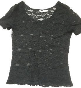 The Limited Lace Date Top Black