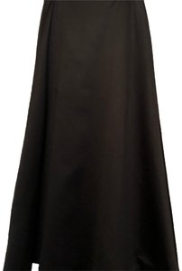Oleg Cassini Maxi Skirt Black