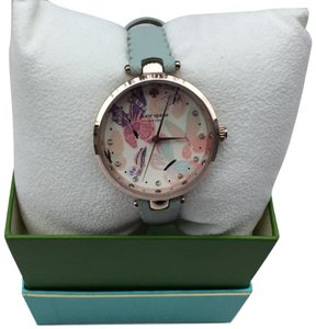 Kate Spade Holland Mint Scalloped Saffiano Leather Watch KSW1414