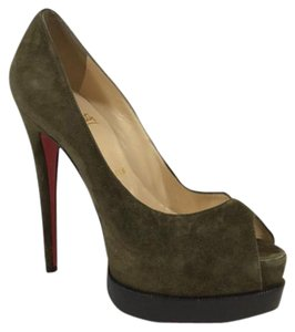 Christian Louboutin Olive Pumps