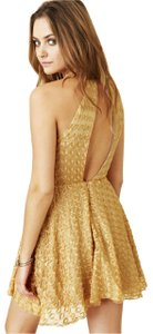 For Love & Lemons And Free People Lace Halter Dress