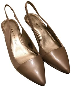 Anne Klein gold cream Pumps