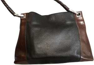 Brighton Vintage Leather Two Tone Shoulder Bag