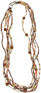 Chan Luu Chan Luu Brown Mix 5 Strand Necklace