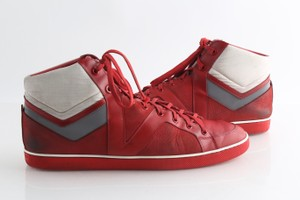 Louis Vuitton Red Reflective High Top - Shoes