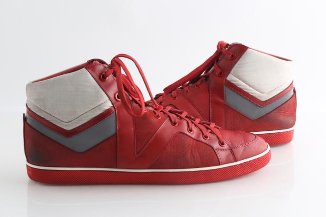 Item - Red Reflective High Top - Shoes