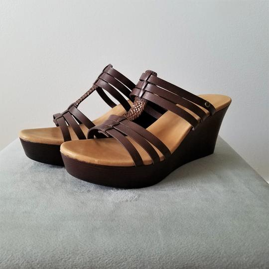 05a614920ff Brown W Mattie Wedges