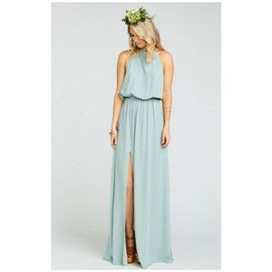 silver sage Maxi Dress by Show Me Your Mumu