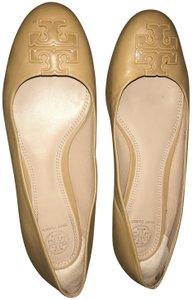 Tory Burch Leather Blond Flats