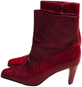 Ann Marino red Boots