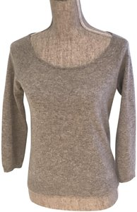 Lord & Taylor Cashmere Size Small Winter Scoop-neck Sweater
