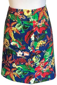 Talbots Skirt Tropical