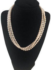 Honora Honora 3 Strand Freshwater Pearl Necklace
