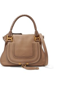 Chloé Satchel in Brown Nut