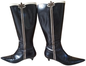 Fratelli Rossetti Pointed Toe Black Boots
