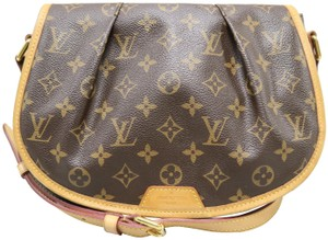 Louis Vuitton Lv Monogram Menilmontant Pm Canvas Cross Body Bag