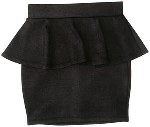 2b bebe Mini Skirt Gunmetal