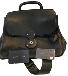 Ralph Lauren Collection Satchel in Black