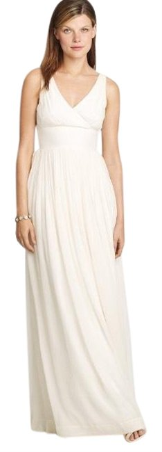 Preload https://img-static.tradesy.com/item/24453833/jcrew-white-cream-sophia-gown-long-formal-dress-size-2-xs-0-1-650-650.jpg
