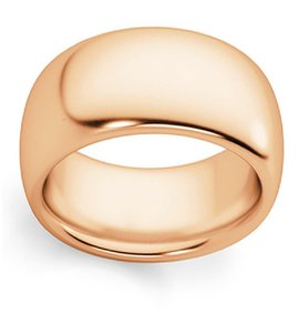 Apples of Gold 10mm Plain Rose Band Ring
