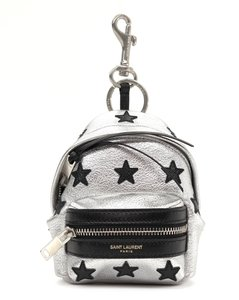 Saint Laurent Toy Backpack Keychain