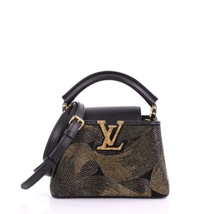 Louis Vuitton Handbag Tote in black and gold