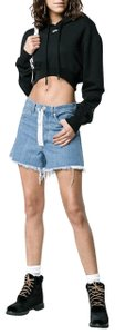 Off-White™ Denim Shorts-Medium Wash