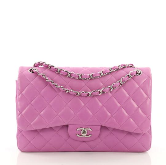 Preload https://img-static.tradesy.com/item/24454851/chanel-classic-flap-classic-double-quilted-jumbo-lavender-lambskin-leather-shoulder-bag-0-0-540-540.jpg