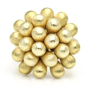 Marco Bicego Marco Bicego 18k Yellow Gold Acapulco Cluster Ring