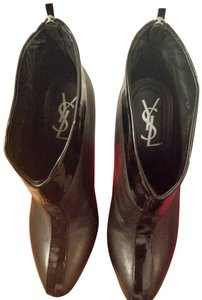Saint Laurent Leather Date Night Night Out Limited Edition Black Boots