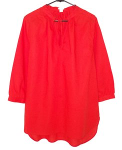 J.Crew Linen Cotton Relaxed Tunic
