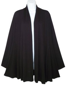 Eileen Fisher A-line Swing Stretch Relaxed Casual Cardigan