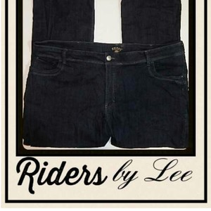Riders by Lee Boot Cut Jeans-Dark Rinse
