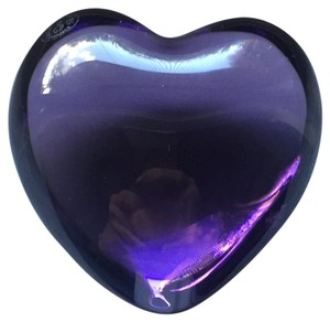 Baccarat Baccarat Crystal Heart Paperweight