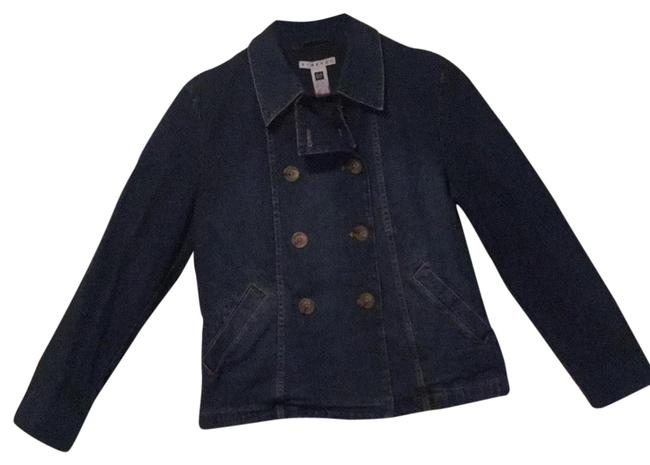 Item - Genuine Blue Jean Color Double Breasted Jacket Size 10 (M)