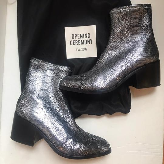 Opening Ceremony silver Boots