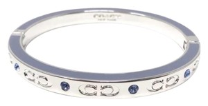 Coach NWT Coach Silver/ Pool Kissing C Signature Bangle