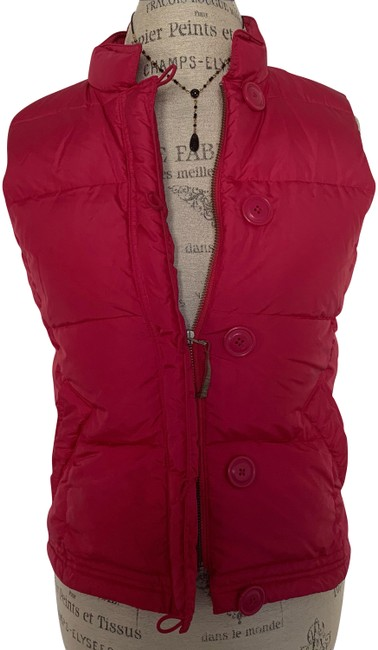Item - Pink Hot Puffer Vest Size 2 (XS)