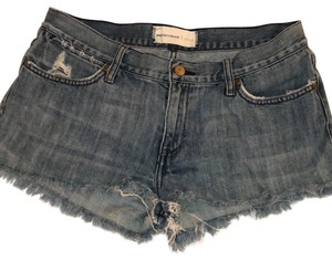 Paper Denim & Cloth Cut Off Shorts denim