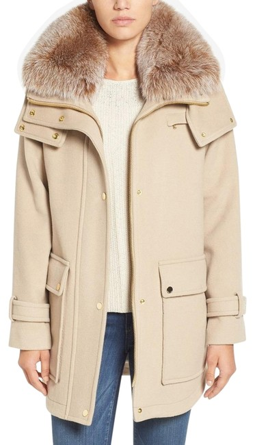 Preload https://img-static.tradesy.com/item/24456740/trina-turk-beige-peyton-wool-blend-coat-size-8-m-0-1-650-650.jpg