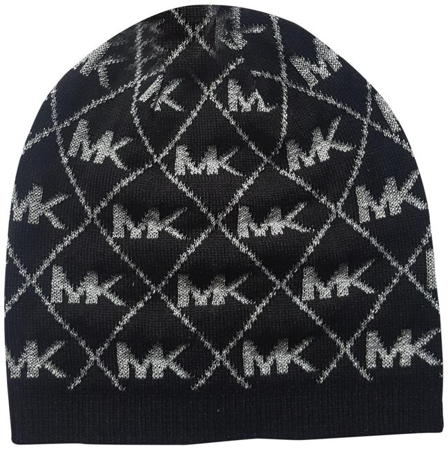 Item - Black/Silver Beanie Holiday Hat